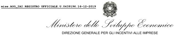 MISE Invitalia - Bando Smart & Start 12.2019